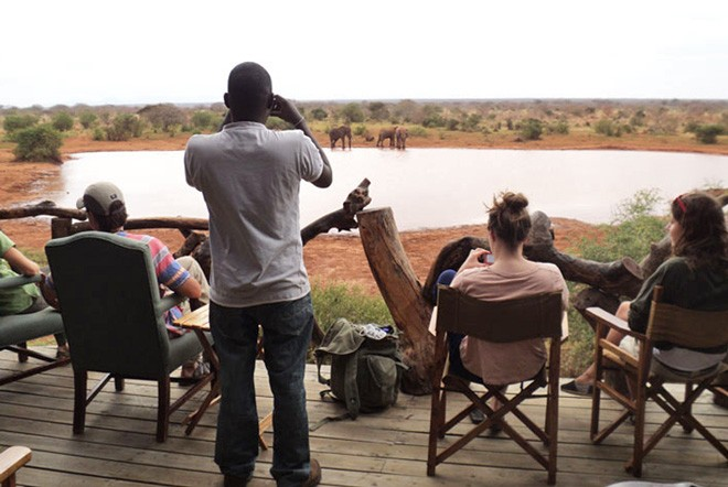 Tsavo viewing deck