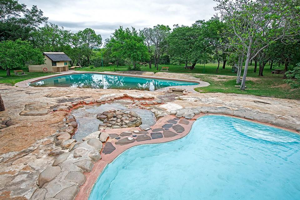 Pretoriuskop camp pool
