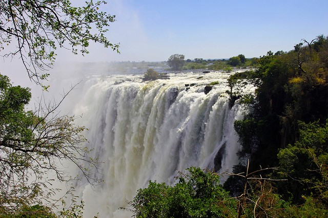 Vic Falls Waterfall  by Global Water Partnership