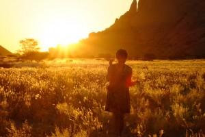 Spitskoppe sunset