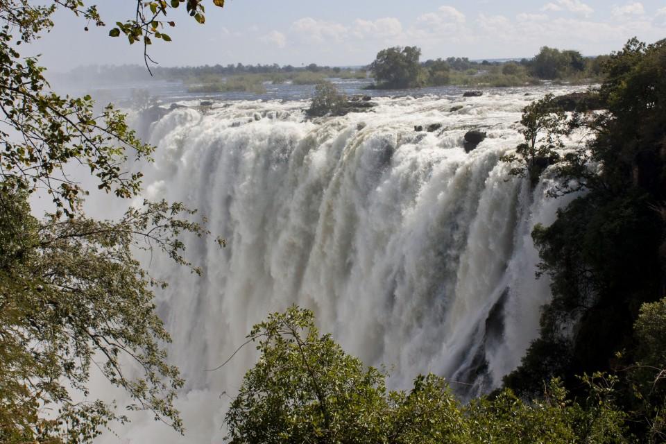 Victoria Falls  by Robin Cafolla