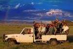 Game viewing in Namibrand