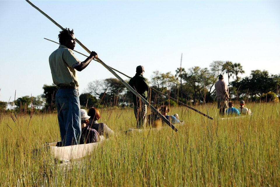 Botswana tour makoro trip in the okavango