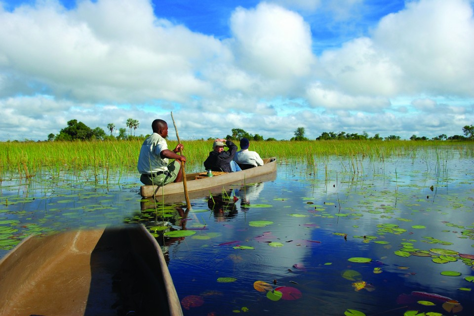 Mokoro in Delta