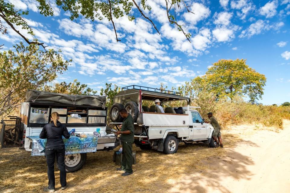 Botswana safari transport