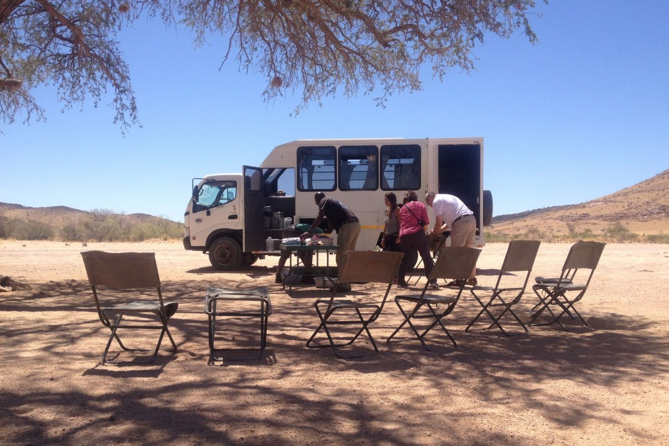 Picnic in Damaraland