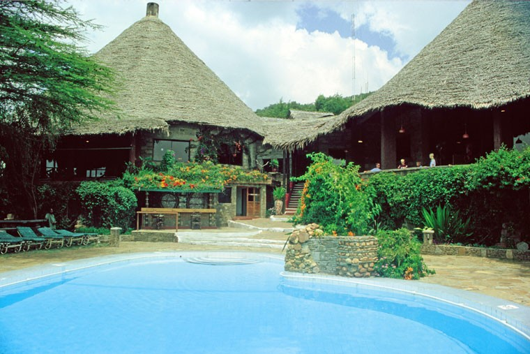 Masai Mara Lodge Pool