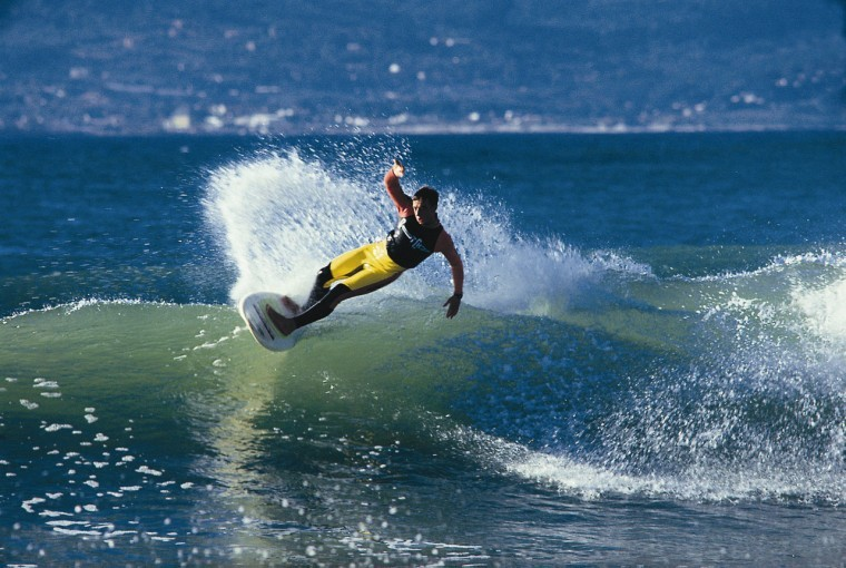 Surfing J'Bay