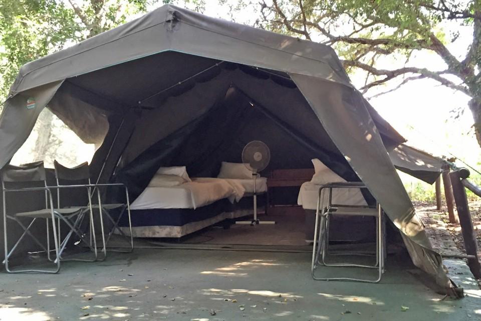 Tent at camp