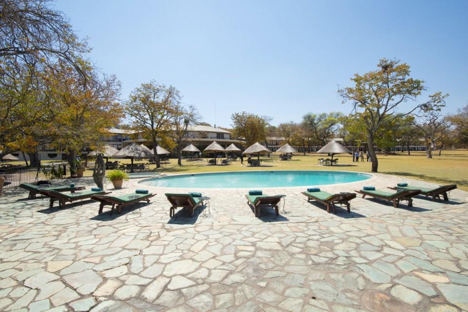 Hwange lodge pool