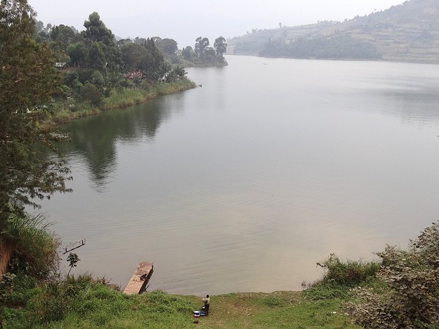 Lake Bunyonyi  by Adam Jones