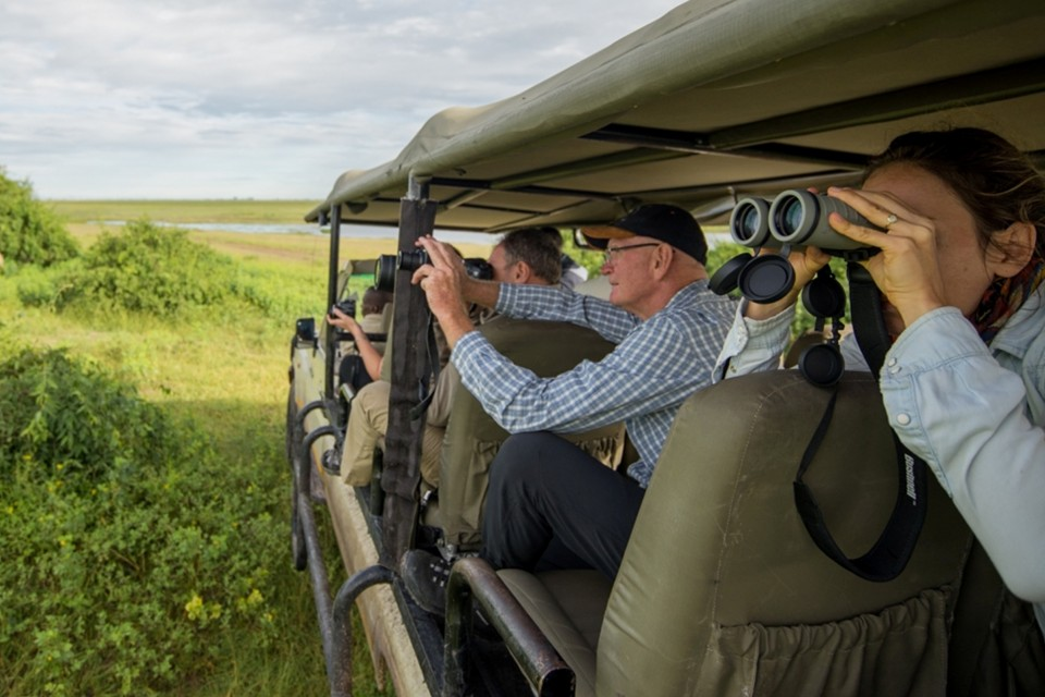 Game drive at chobe