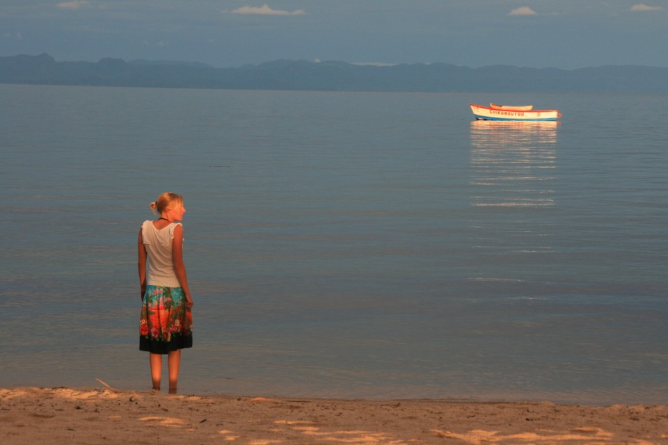 Lake Malawi sunset  by Michiel Van Balen