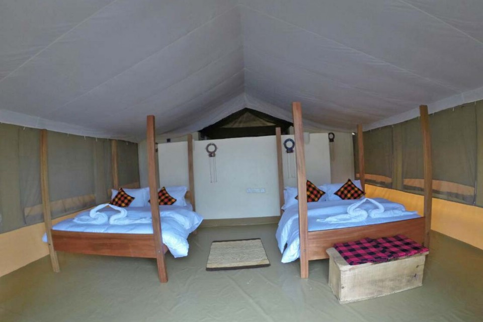 Mara twin room