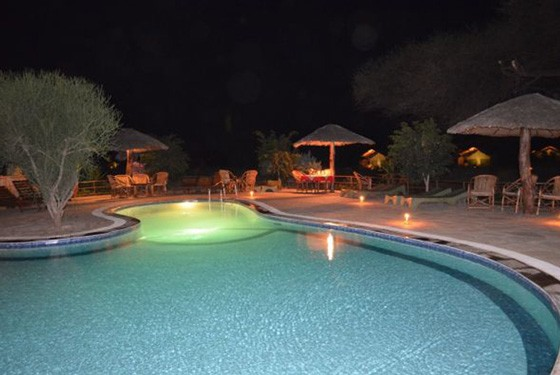 Amboseli camp pool