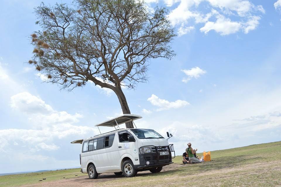 Tour minibus