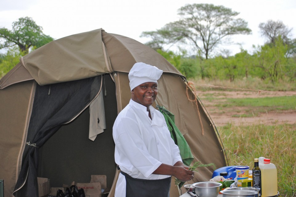 Chef at Camp