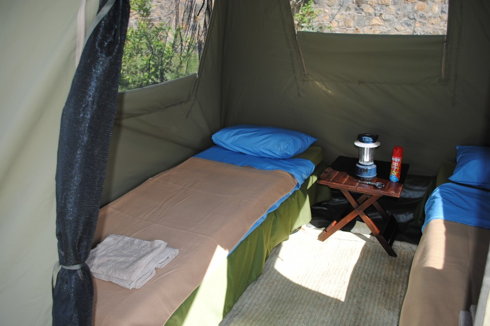 Tanzania Private Camping Lodge Safari