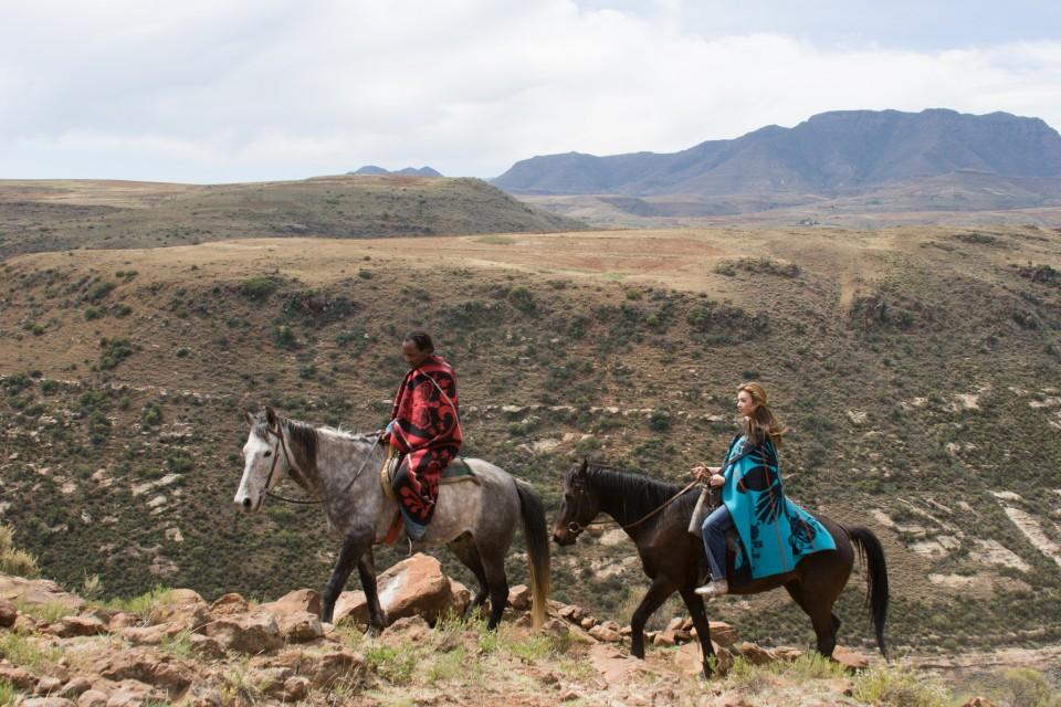 Lesotho pony trekking  by Di.Malealea