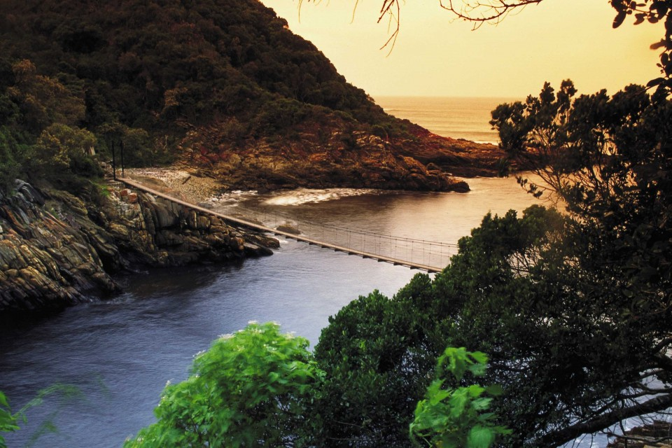 Tsitsikamma - Storms River bridge
