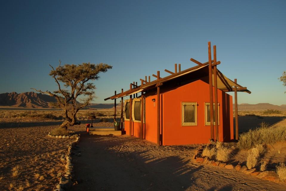 Chameleon safaris - accommodation at desert camp