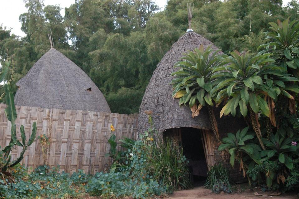 Dorze hut