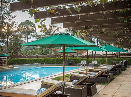 Nairobi hotel pool