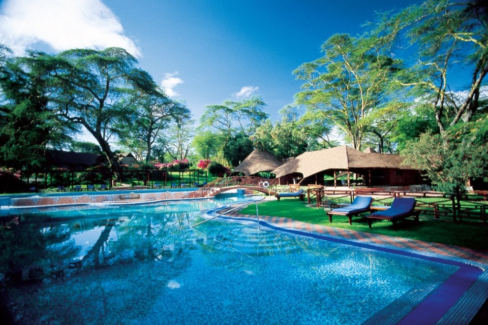 Naivasha lodge pool