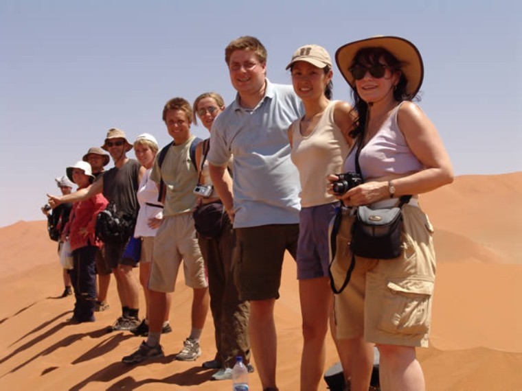 Namib Dunes of Namibia