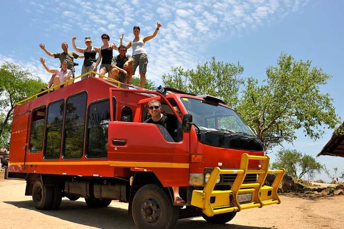 Truck top graham hood