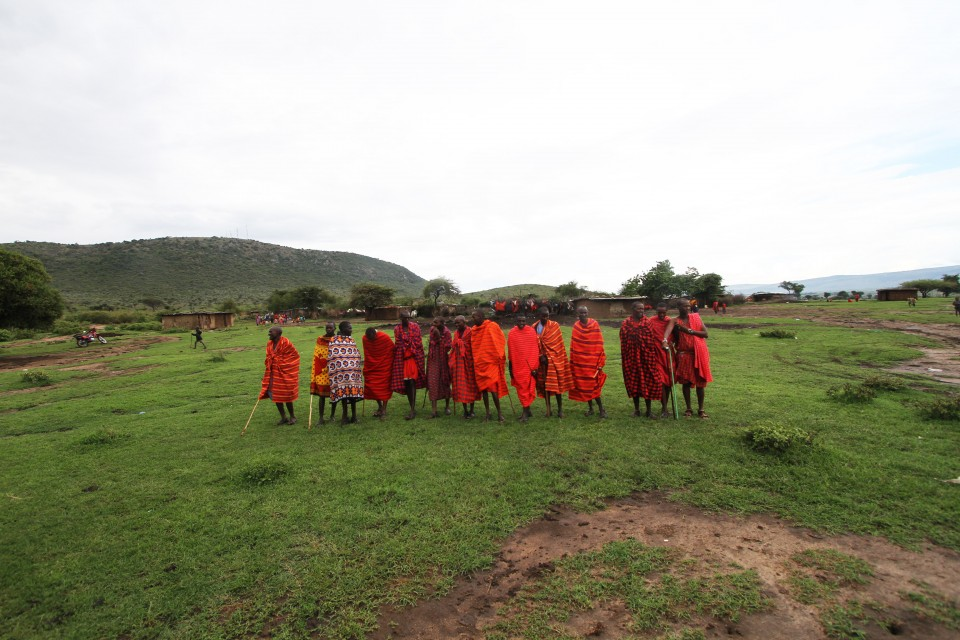 Masai mara people