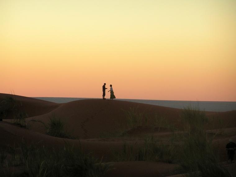 Sossusvlei-sunset