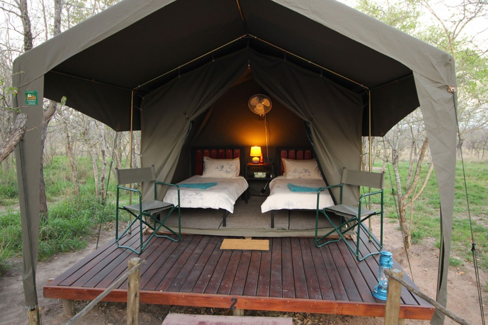 Greater Kruger eco camp tent