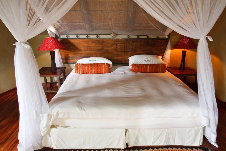 Kalahari lodge room