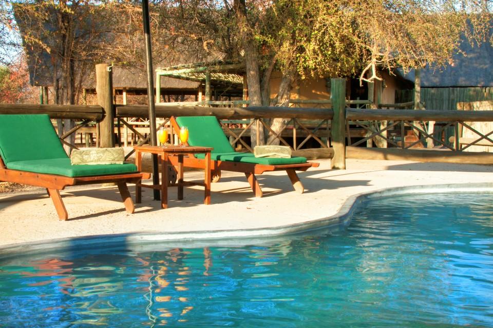 Kalahari lodge pool