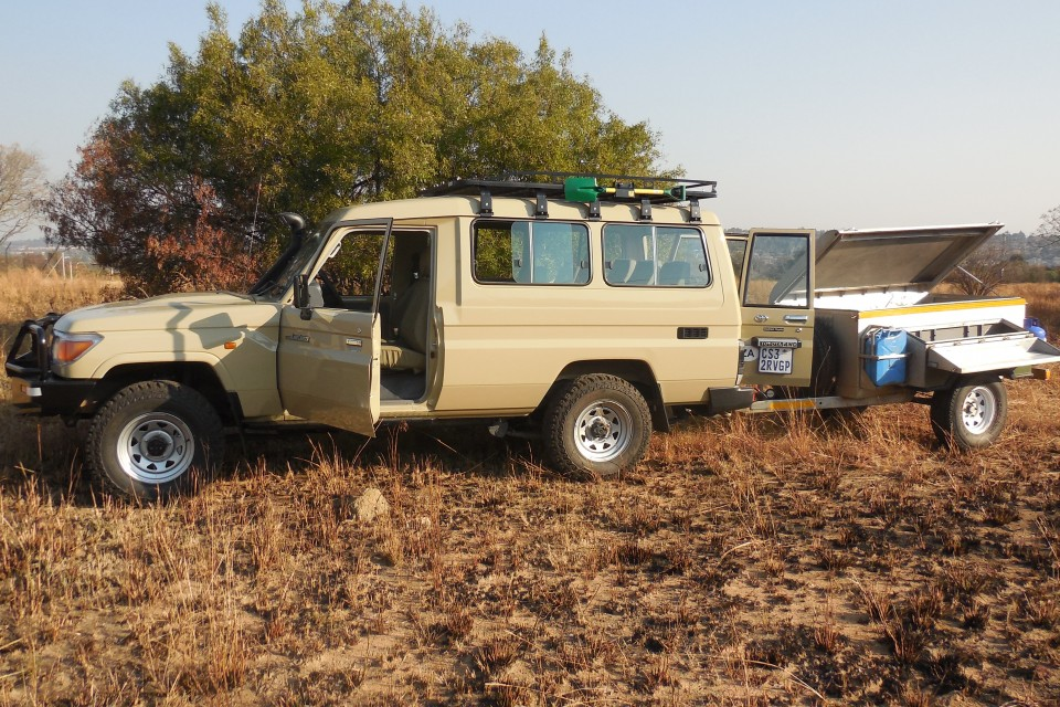 Safaris land cruiser