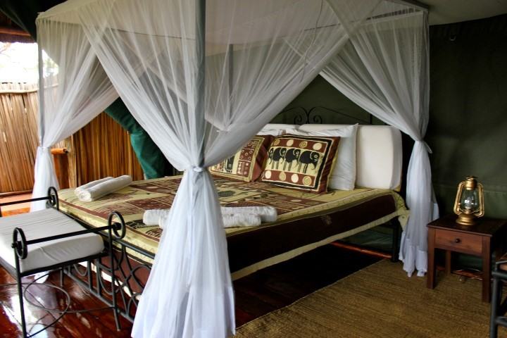 Ngorongoro tented room