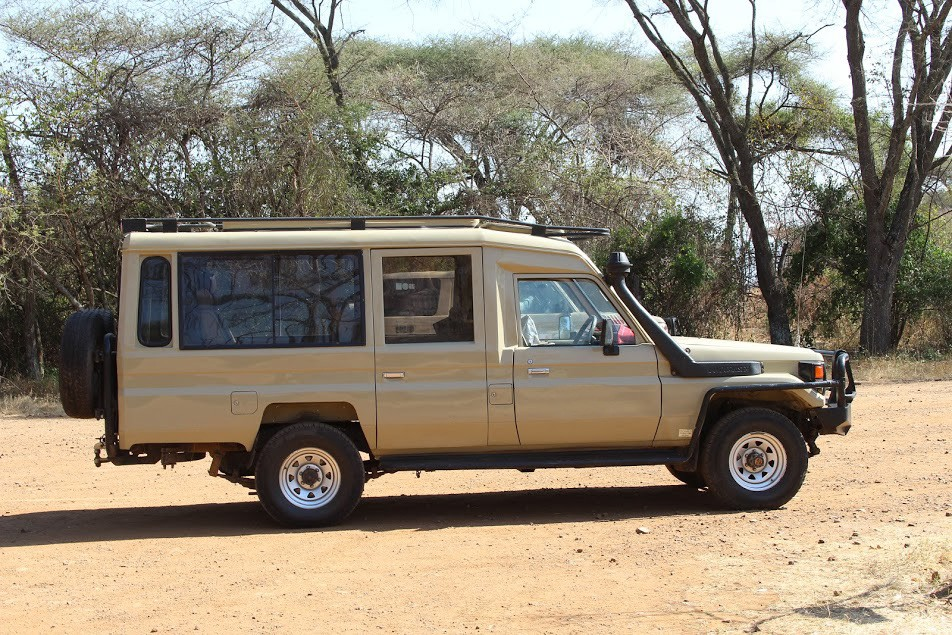Tanzania 4x4 vehicle