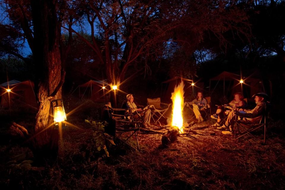 Campfire Moremi