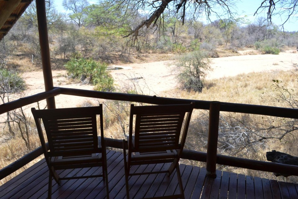 Game lodge room view