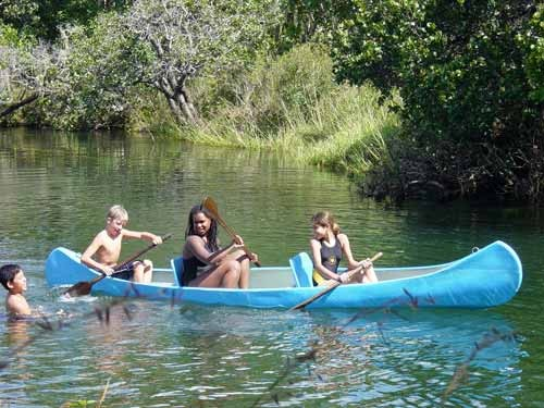 Canoeing in the Mutinondo