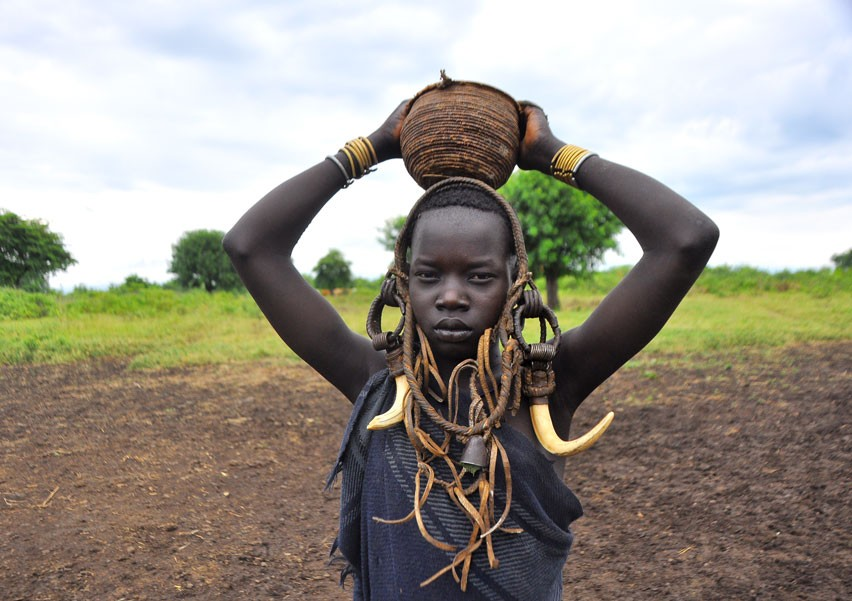 Mursi Tribe  by Rod Waddington