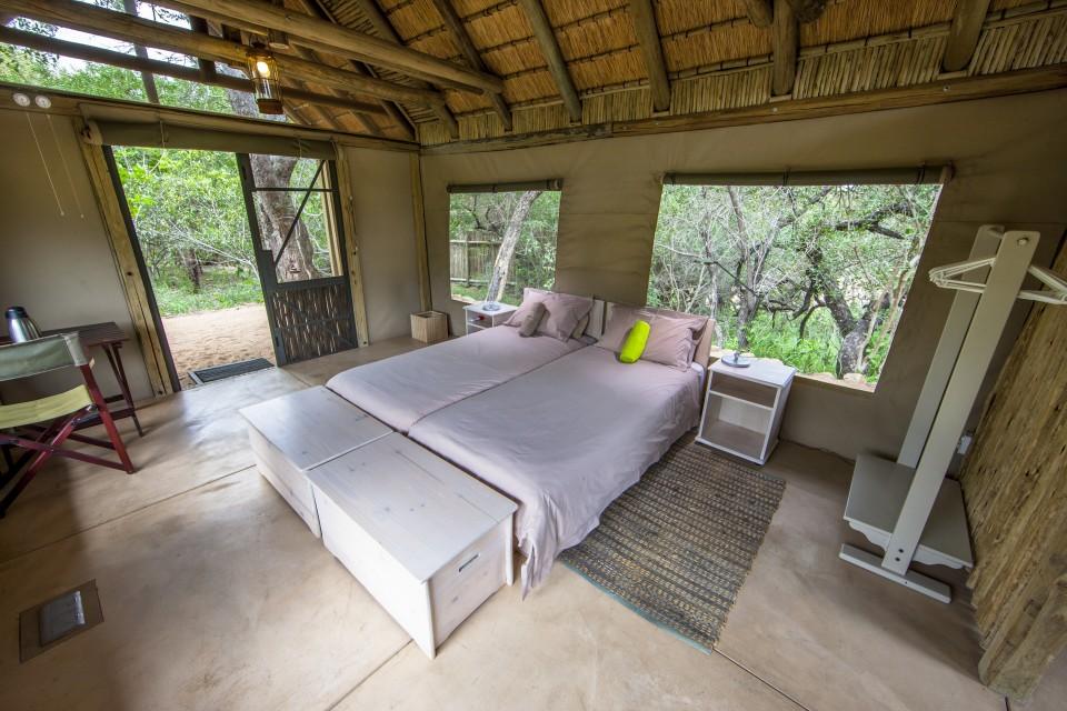 Bateleur Camp room inside