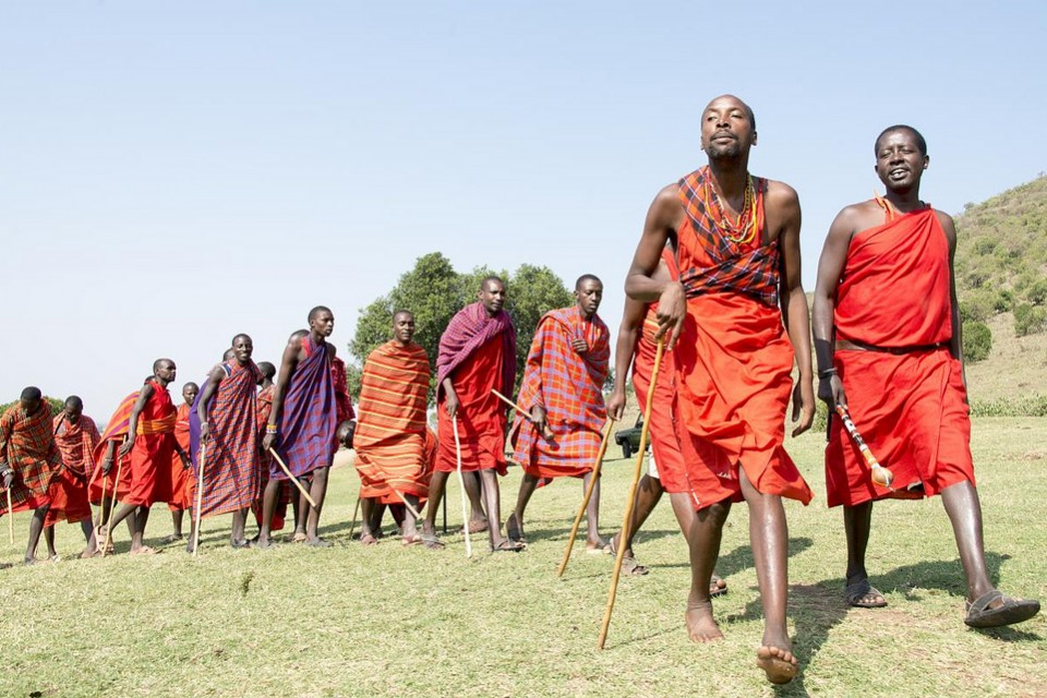 Maasai people  by Christopher Michel