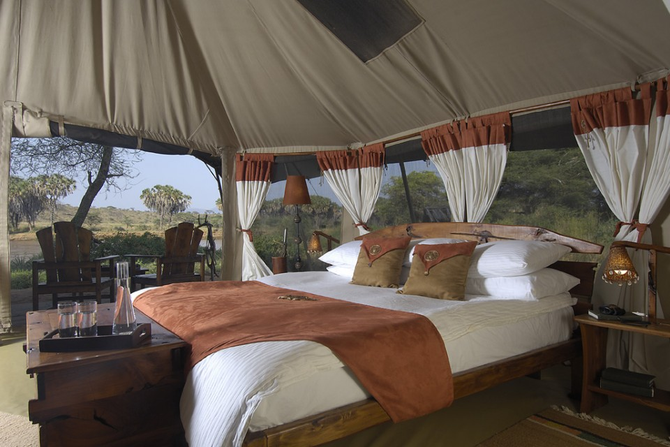 Elephant Bedroom Camp tent