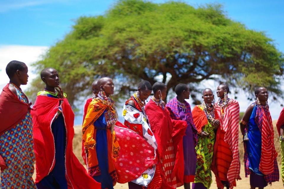 Maasai  by Xiaojun Deng