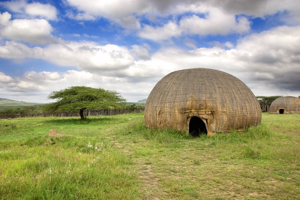Traditional huts zululand
