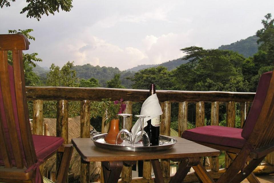Buhoma view