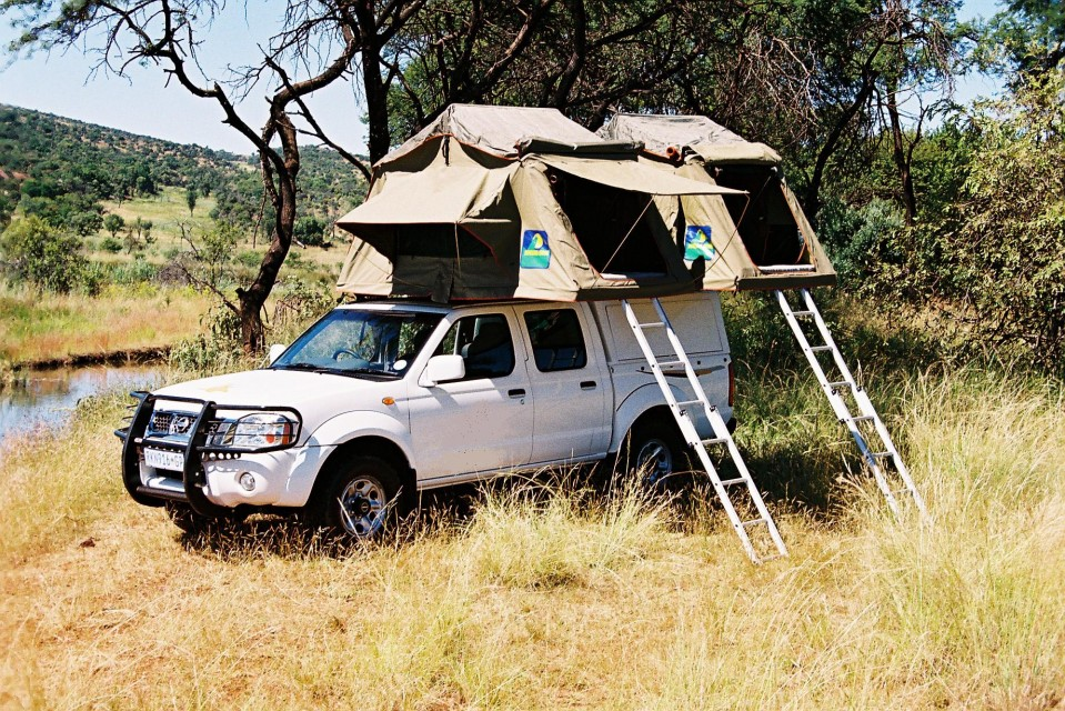Kafue safari vehicle