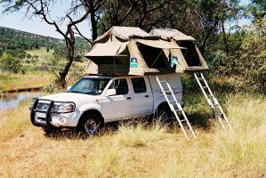 Kafue safari vehicle